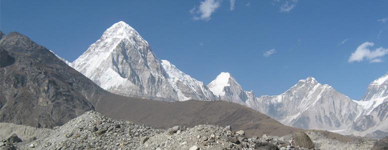 Mt. Pumari Expedition the pyramid of snow lies in the upper Khumbu region
