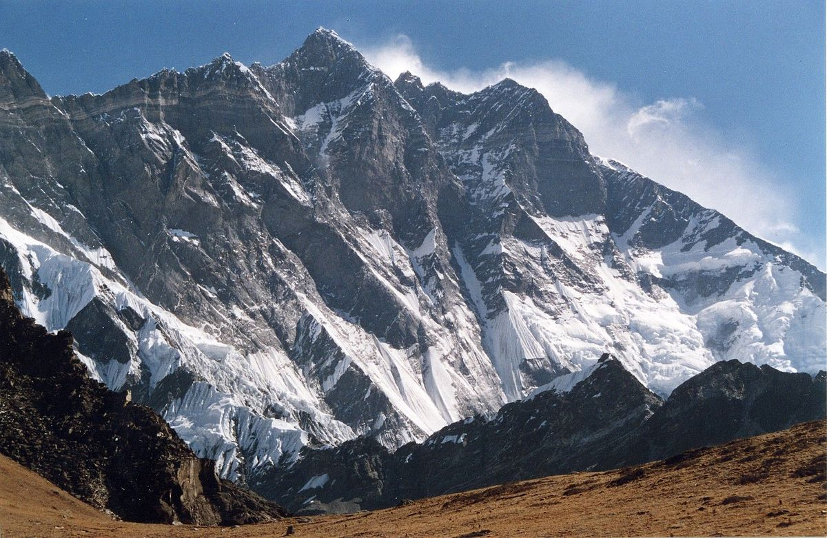 Mt. Lhotse (8516) Expedition first attempt on Mount Lhotse was by an international team in 1955