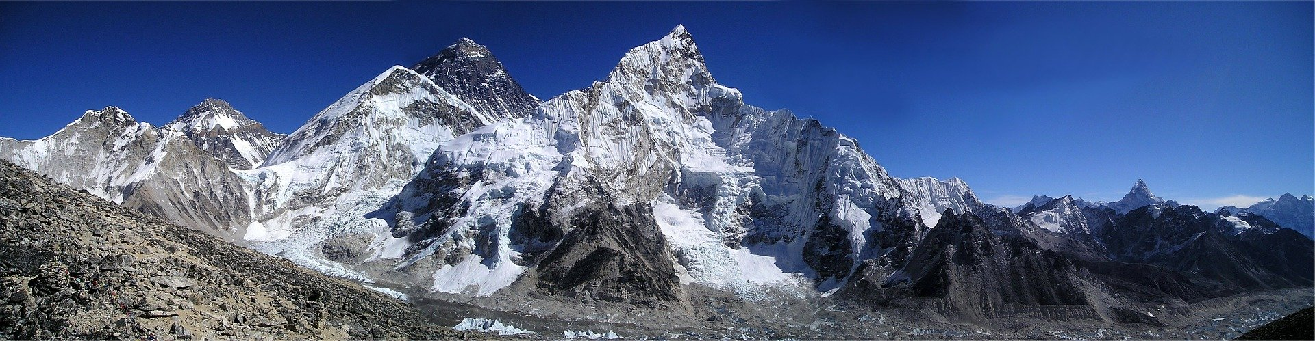Top of the world Mt. Everest Expedition the highest mountains on the Earth