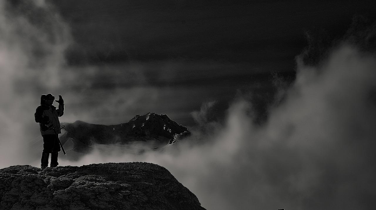 Pokalde Peak Climbing from Lobuche the peak looks interesting rising to the south of Kongma La (5,535m.)