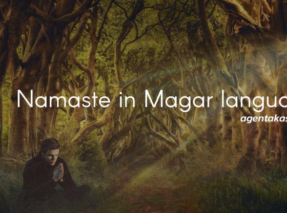 Namaste in Magar language